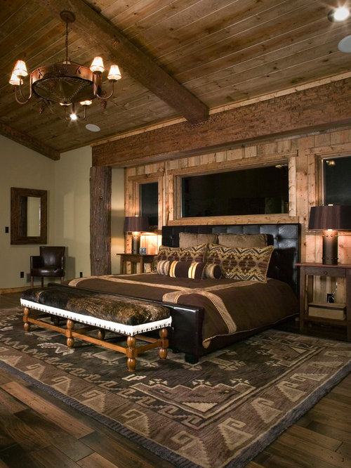 houzz earthy bedroom design ideas remodel pictures