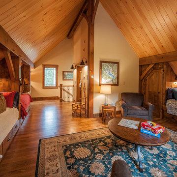 Timberframe Lake House - Bunk Room