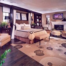 Mediterranean Bedroom by David-Michael Design,Inc.
