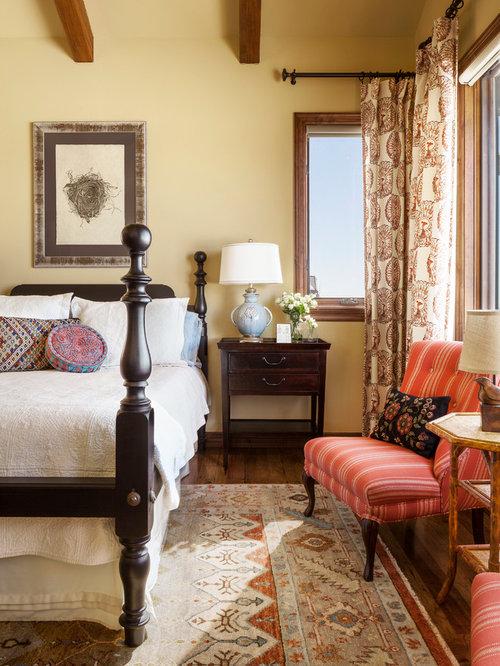 Mediterrane Schlafzimmer mediterrane schlafzimmer mit gelber wandfarbe ideen design bilder
