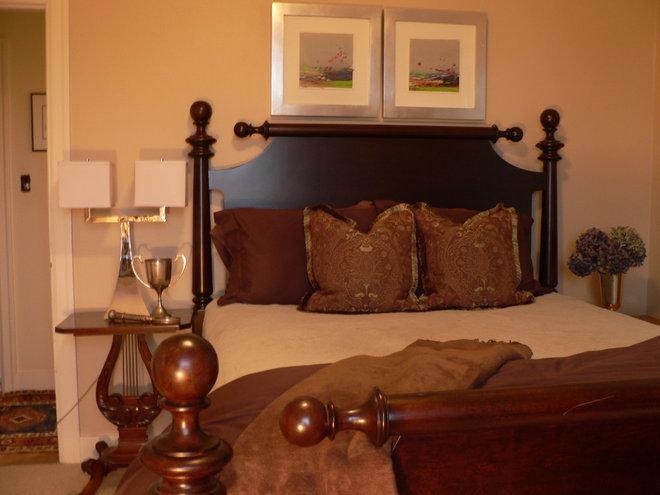 Eclectic Bedroom by Timothy De Clue Design L.L.C