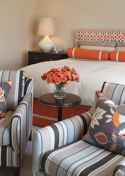 Современный Спальня by Artistic Designs for Living, Tineke Triggs