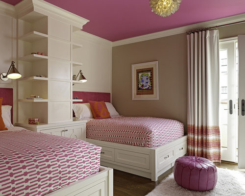 Girl Room Paint Ideas girl bedroom painting ideas | houzz