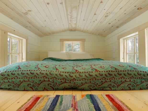 Rustic Bedroom by Cushman Design Group
