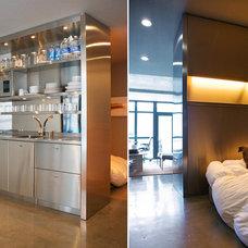 Contemporary Bedroom by Poliform sagartstudio