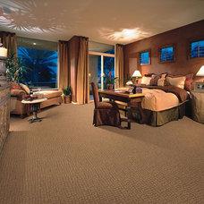 Contemporary Bedroom by Hemphill's Rugs & Carpets