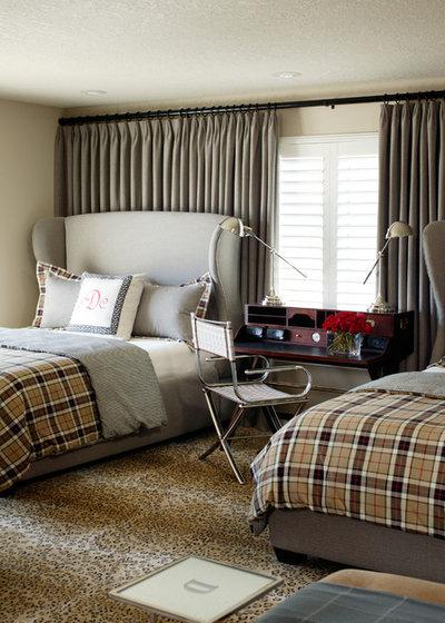 Modern Bedroom by Tobi Fairley Interior Design