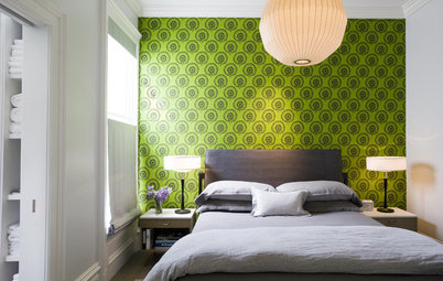 Palatable Palettes: Green Goodness for Bedrooms