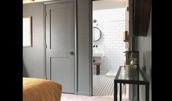 Toledo Finished Basement Guest Bedroom & Full Bath