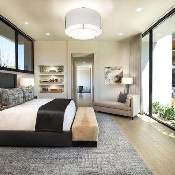 Tonal Harmony Master Bedroom View 2