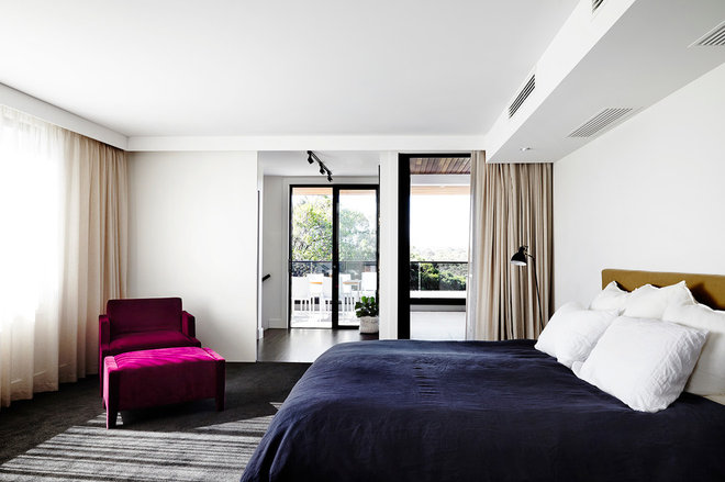 Contemporary Bedroom by Melbourne Contemporary Kitchens