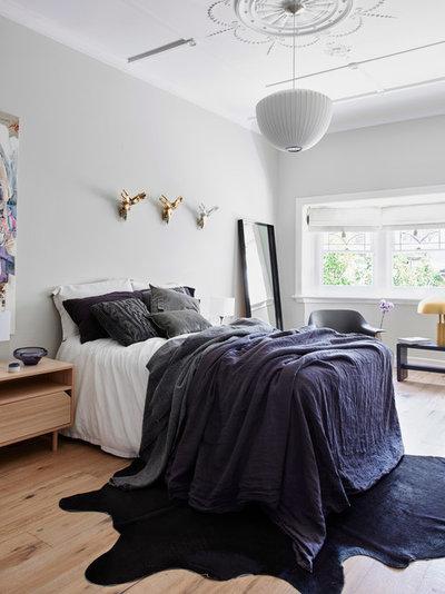Scandinavian Bedroom by NORTHBOURNE architecture + design
