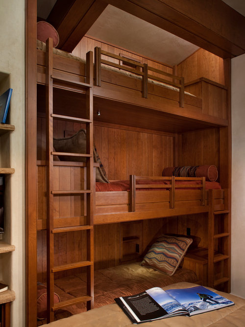 Triple Decker Bunk Beds Home Design Ideas, Pictures, Remodel and Decor