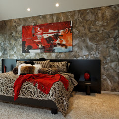 contemporary bedroom by Vahallan Papers