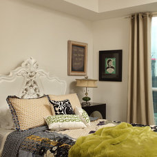 Eclectic Bedroom by Design Theory Interiors of California, Inc