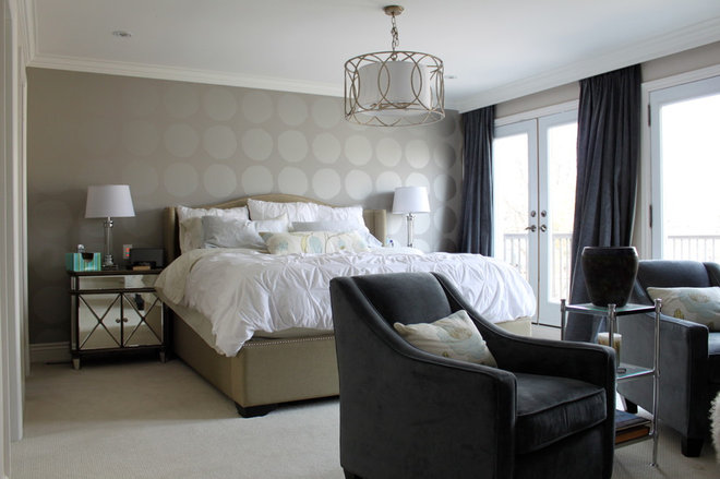 Contemporary Bedroom by Lisa Taylor Design and Build