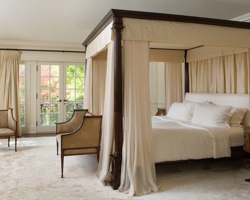 Romantic Canopy Bed Home Design Ideas Pictures Remodel