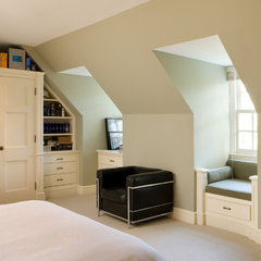 traditional bedroom by Heintzman Sanborn Architecture~Interior Design