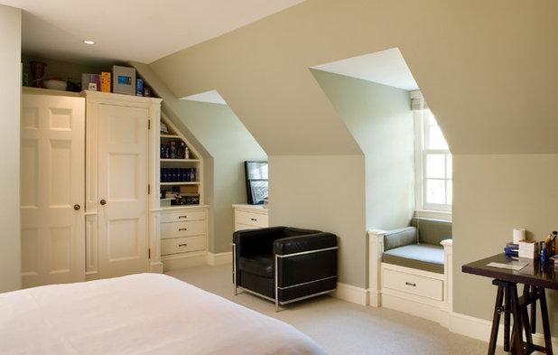 Traditional Bedroom by Heintzman Sanborn Architecture~Internal Design