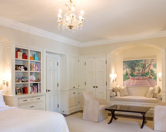 built in bedroom storage | houzz