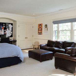 Elegant bedroom photo in Toronto