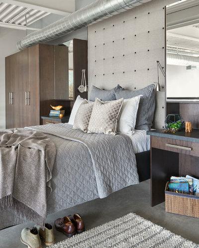 Modern Bedroom by KMSalter Design