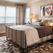 Contemporary Bedroom by Allard & Roberts Interior Design, Inc