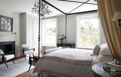 7 Ways With a Canopy Bed That Don't Involve Frills