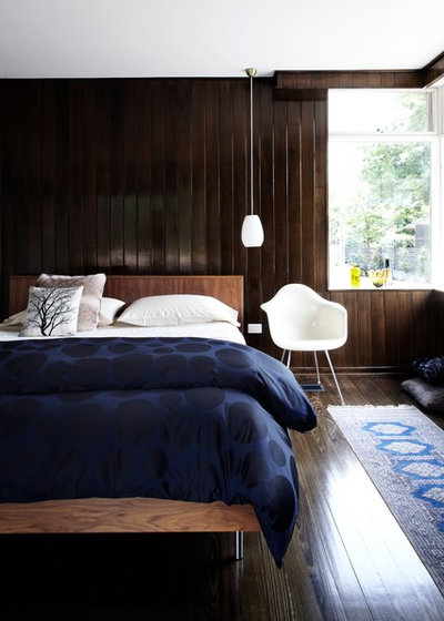 Midcentury Bedroom by Sharyn Cairns