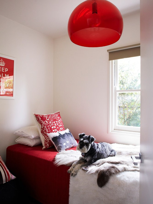 saveemail - Red White Bedroom Designs