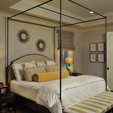 Eclectic Bedroom by Beckwith Interiors