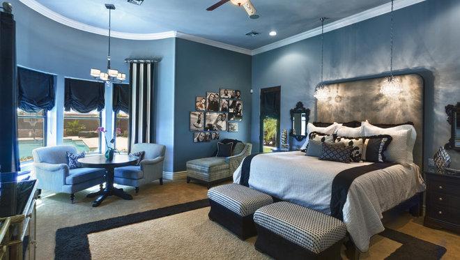 Traditional Bedroom by IBD Studio