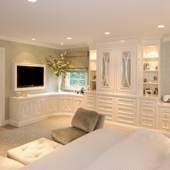 traditional bedroom by AMI Designs