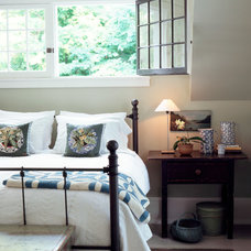 Traditional Bedroom by Wells & Fox Architectural Interiors