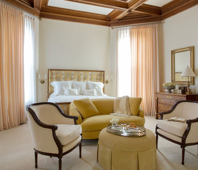 Traditional Bedroom by Catherine & McClure Interiors