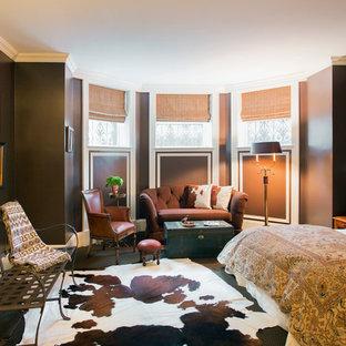 Создайте стильный интерьер: спальня в классическом стиле с черными стенами - последний тренд
