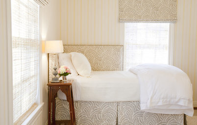 The Cure for Houzz Envy: Guest Room Touches Anyone Can Do