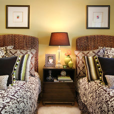 Traditional Bedroom by Cheryl Ketner Interiors