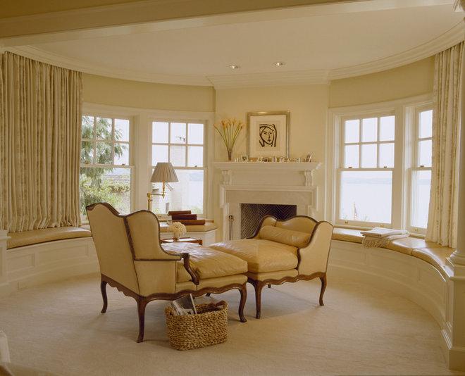 Traditional Bedroom by Conard Romano Architects