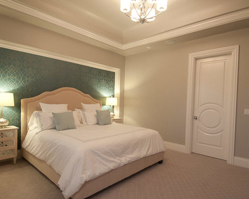 candice olson bedroom designs. Example Of A Mid-sized Classic Master Carpeted Bedroom Design In Portland With Blue Walls Candice Olson Designs O