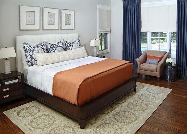 Traditional Bedroom by Denise McGaha Interiors