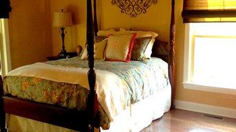 Traditional bedroom @ Farmhouse