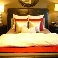 traditional bedroom by FOCAL POINT STYLING