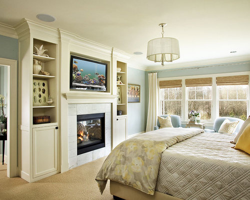 master bedroom fireplaces built in fireplace houzz 12274
