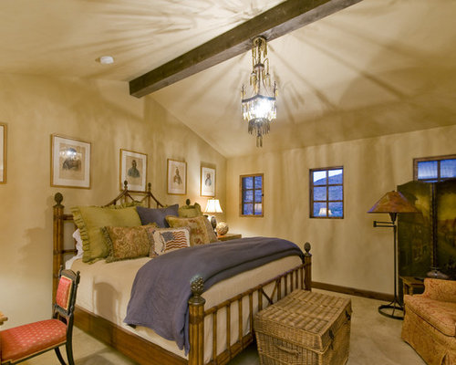 Inspiration For A Timeless Bedroom Remodel In Phoenix With Beige Walls