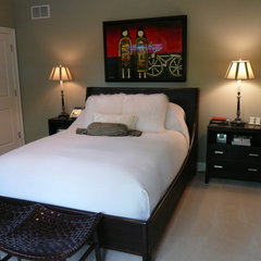 contemporary bedroom by Letitia Holloway