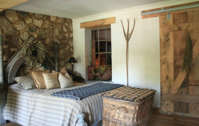 My Houzz: A Country-Style Loft Comes Alive With DIY