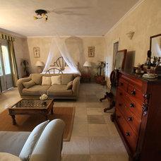 Mediterranean Bedroom Cortijo El Aguilon