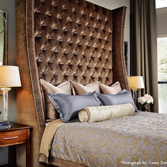 traditional bedroom by Laura Britt Design