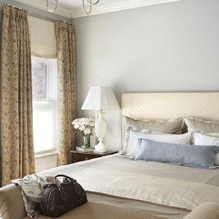 Elegant bedroom photo in New York
